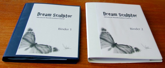 Dream Sculptor binders.JPG